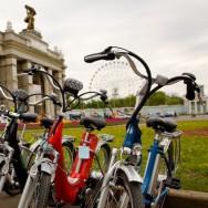 Квест на ВВЦ для велосипедистов и пешеходов