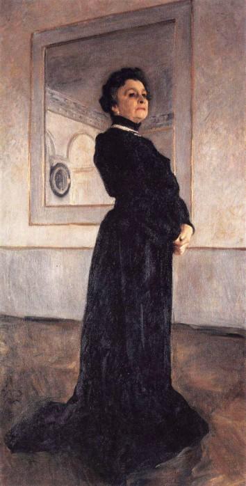Портрет Серова
