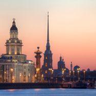 Онлайн прогулка по Санкт-Петербургу